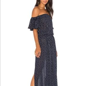 Faithful the Brand off shoulder maxi dress